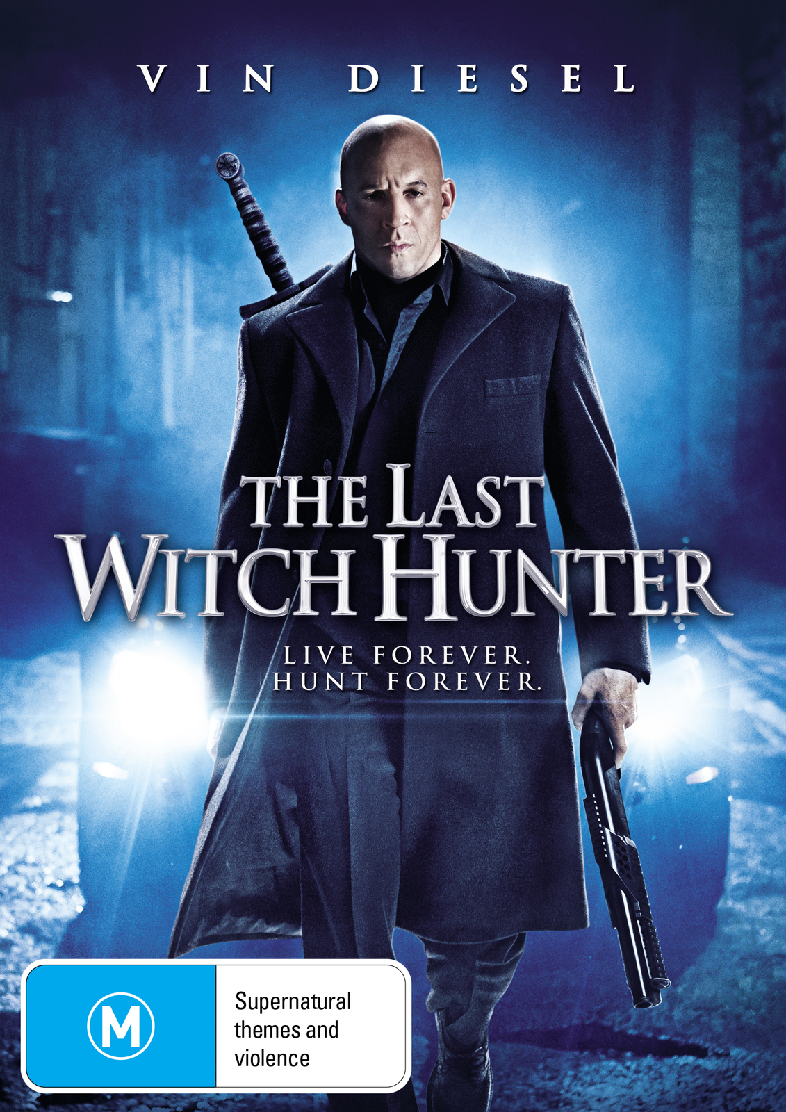 The Last Witch Hunter on DVD image