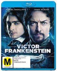 Victor Frankenstein on Blu-ray