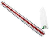 Standardgraph Tri Scale Ruler - Tech School (1:20, 1:25, 1:33 1/3, 1:50, 1:75, 1:100)