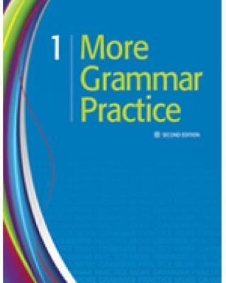 More Grammar Practice 1 by Heinle image
