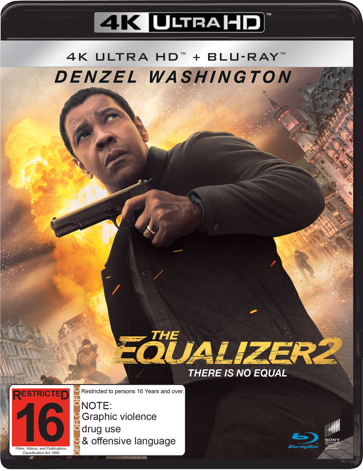 The Equalizer 2 on Blu-ray, UHD Blu-ray image