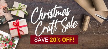 20% off Christmas Craft!