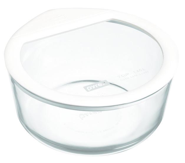 Pyrex: Ultimate Round Storage Dish - White (1.6L)