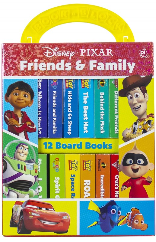 Disney Pixar Friends And Family My First Library