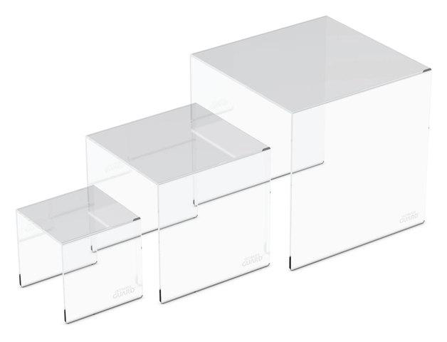 Ultimate Guard: Acrylic Pedestal Set (3-Piece)