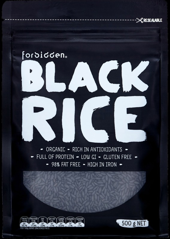 Forbidden Organic Black Rice (6 x 500g)