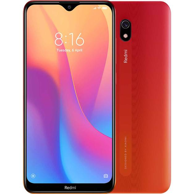 Xiaomi Redmi 8A (32GB/2GB RAM) Sunset Red