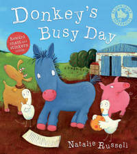 Donkey's Busy Day by Natalie Russell image