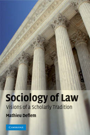 Sociology of Law by Mathieu Deflem image