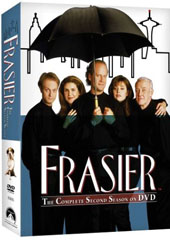 Frasier - Season 2 on DVD