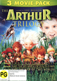 Arthur & the Invisibles - Triple Pack DVD