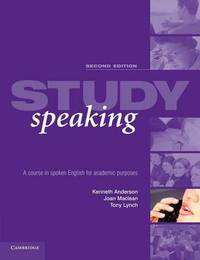 Study Speaking by Kenneth Anderson