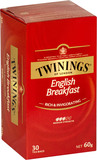 Twinings English Breakfast Tea (30 Bags)