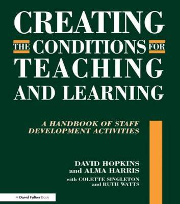Creating the Conditions for Teaching and Learning by David Hopkins image