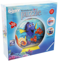 Ravensburger - Finding Dory Disney Kids 3D Puzzle (108pc)