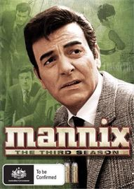 Mannix - The Third Season (6 Disc Set) on DVD