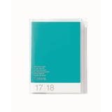 Colours 2018 Weekly A6 Diary - Turquoise