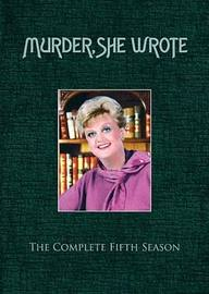 Murder, She Wrote - Complete Season 5 (6 Disc Set) on DVD image