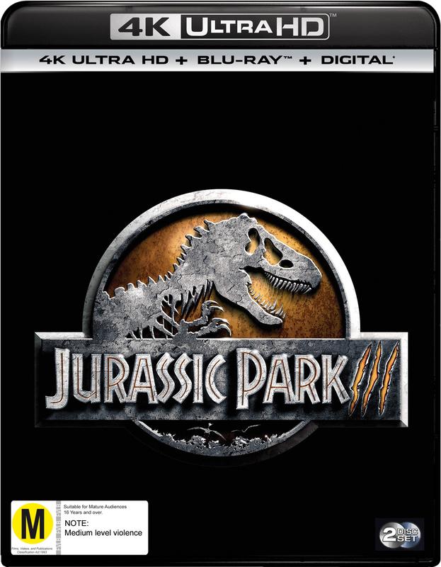 Jurassic Park III on UHD Blu-ray