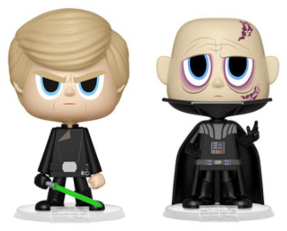 Star Wars: Darth Vader & Luke Skywalker - Vynl. Figure 2-Pack