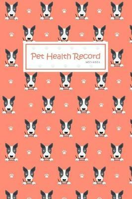 Pet Health Record Notebook by Michelia Creations