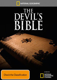 National Geographic: Devil's Bible / Witch Hunter's Bible on DVD