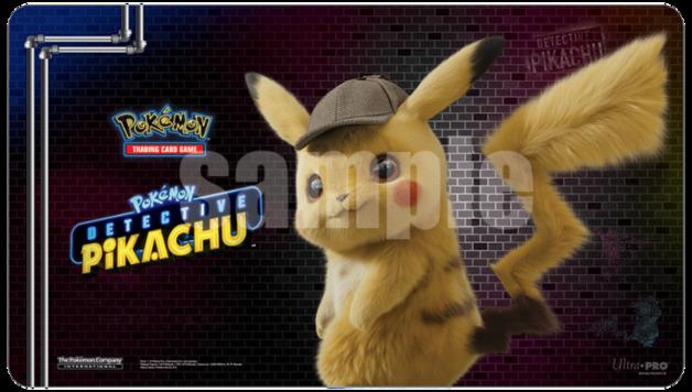 POKEMON - Playmat - Detective Pikachu