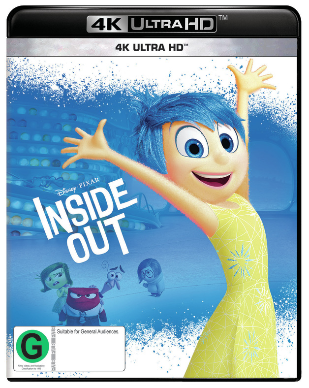 Inside Out (4K UHD) on UHD Blu-ray