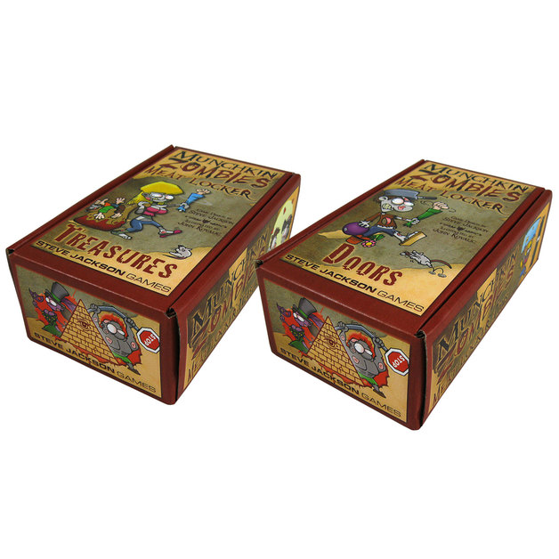 Munchkin: Zombies: Meat Lockers - Storage & Mini Expansion