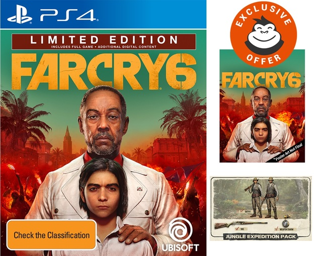 Far Cry 6 Limited Edition for PS4