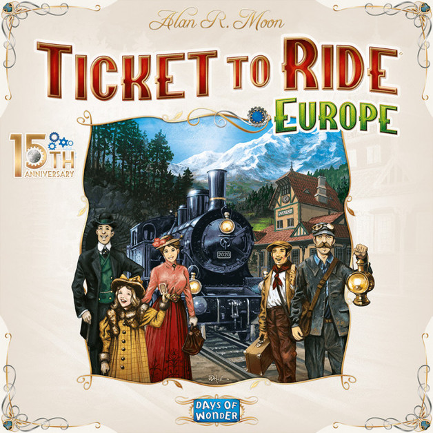 Ticket to Ride: Europe – 15th Anniversary Edition