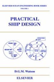 Practical Ship Design by D.G.M. Watson image