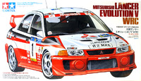 Tamiya Mitsubishi Lancer Evolution V WRC 1:24 Kitset Model
