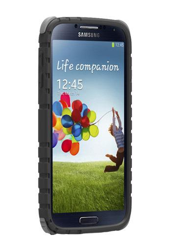 PureGear GripTek Case for Galaxy S4 (Black)