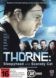 Thorne: Sleepyhead & Scaredy Cat on DVD