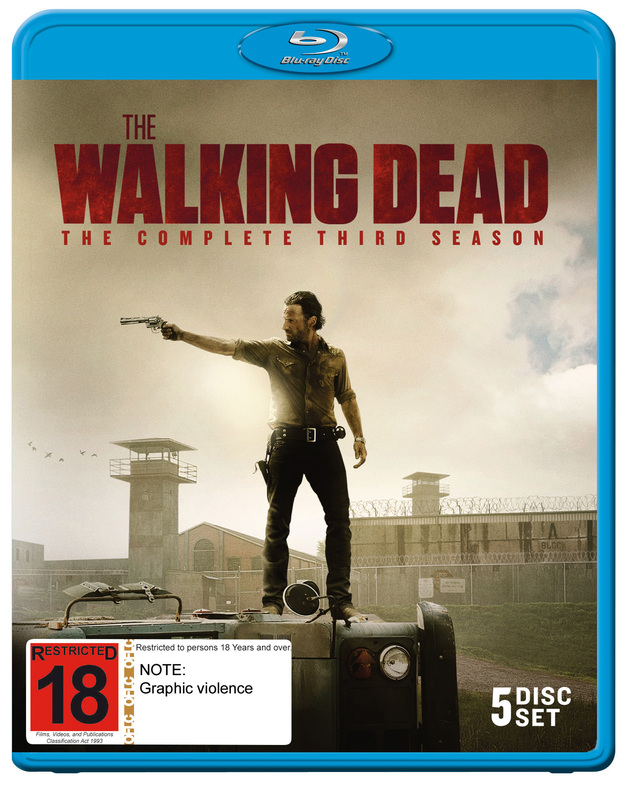 The Walking Dead - The Complete Third Season on Blu-ray