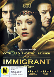 The Immigrant on DVD