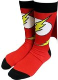 DC Comics Flash Caped Crew Socks