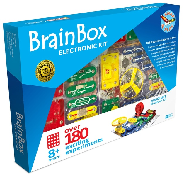 Brain Box: Absolute Electronic Kit