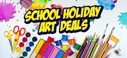 School Holidays Art & Stationery Sale