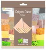 Origami Paper 200x200 - Nature
