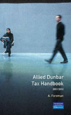 Allied Dunbar Tax Handbook 2001/2002 by Tony Foreman image