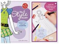 My Style Studio: Design & Trace Your Own Fashions (Klutz) by Klutz Press