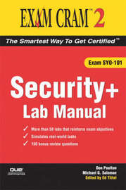 Security+ Exam Cram 2 Lab Manual by Don Poulton image