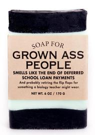 Whiskey River Co: Soap - For Grown Ass People