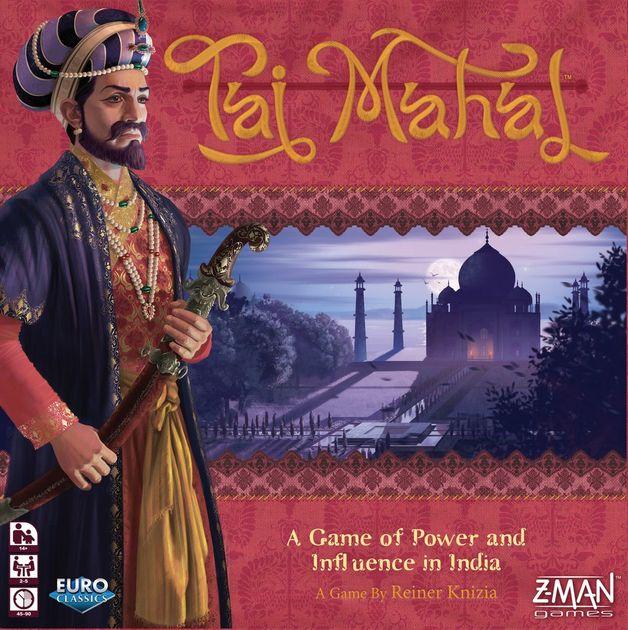 Taj Mahal - Board Game