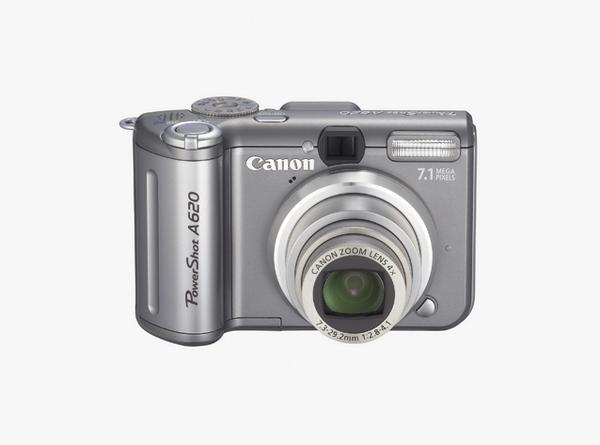 Canon Digital Camera Powershot 7MP A620 image