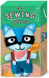 Avenir: Sewing Doll Kit - Raccoon