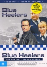 Blue Heelers - Complete Season 2 (10 Disc Box Set) on DVD