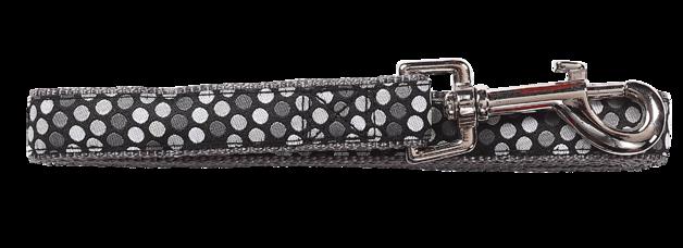 Pawise: Dog Leash - Black/Medium (1.2m/20mm)